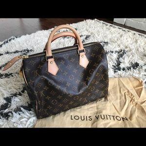 LIKE NEW - Louis Vuitton Monogram Speedy 30